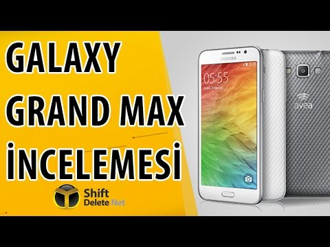 Samsung Galaxy Grand Max İnceleme