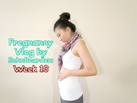 Pregnancy Vlog: Week 10 (Back pain etc.)|SohnBearden