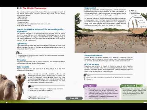 ABIOTIC FACTORS & NUTRIENT CYCLING
