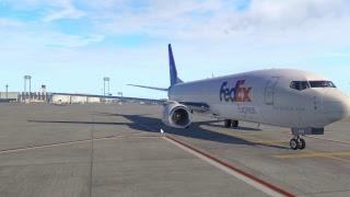Xplane 11 EGFF - EDDF Zibo