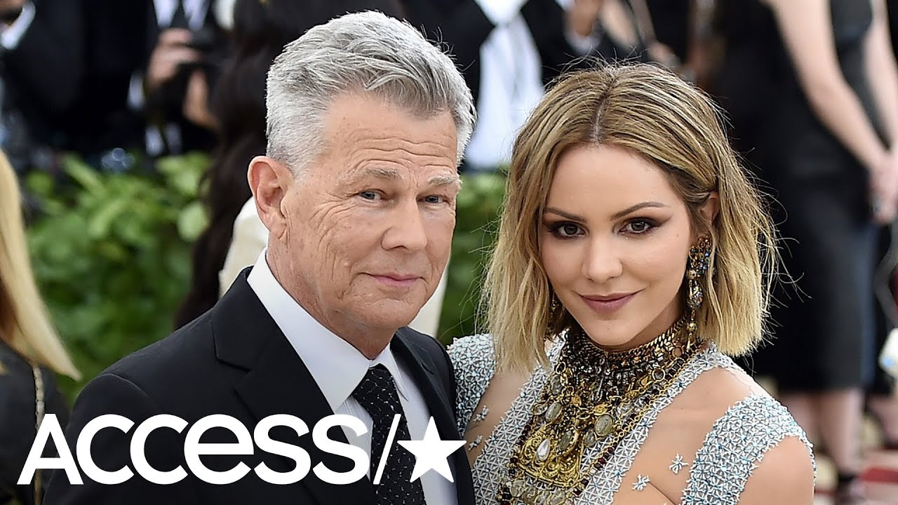 Katharine Mcphee And David Foster Are Married Youtube