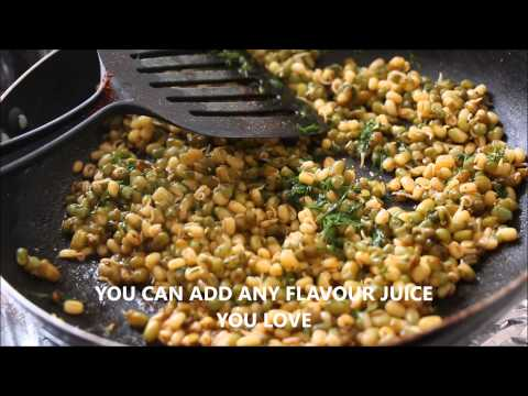 SPROUTED GREEN GRAM FRY / MOONG FRY