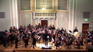SC Chamber Strings, 2015 Spring Concert, Ginastera - Danza Final from Estancia
