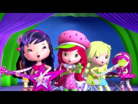 Strawberry Shortcake - The Rockstar Band!!!   Berry Bitty Adventures   Cute Cartoons   WildBrain