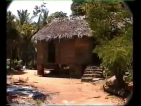 Seychelles 1995: Anse Royale, Anse Soleil et sa vieille maison seychelloise aujourd'hui disparue