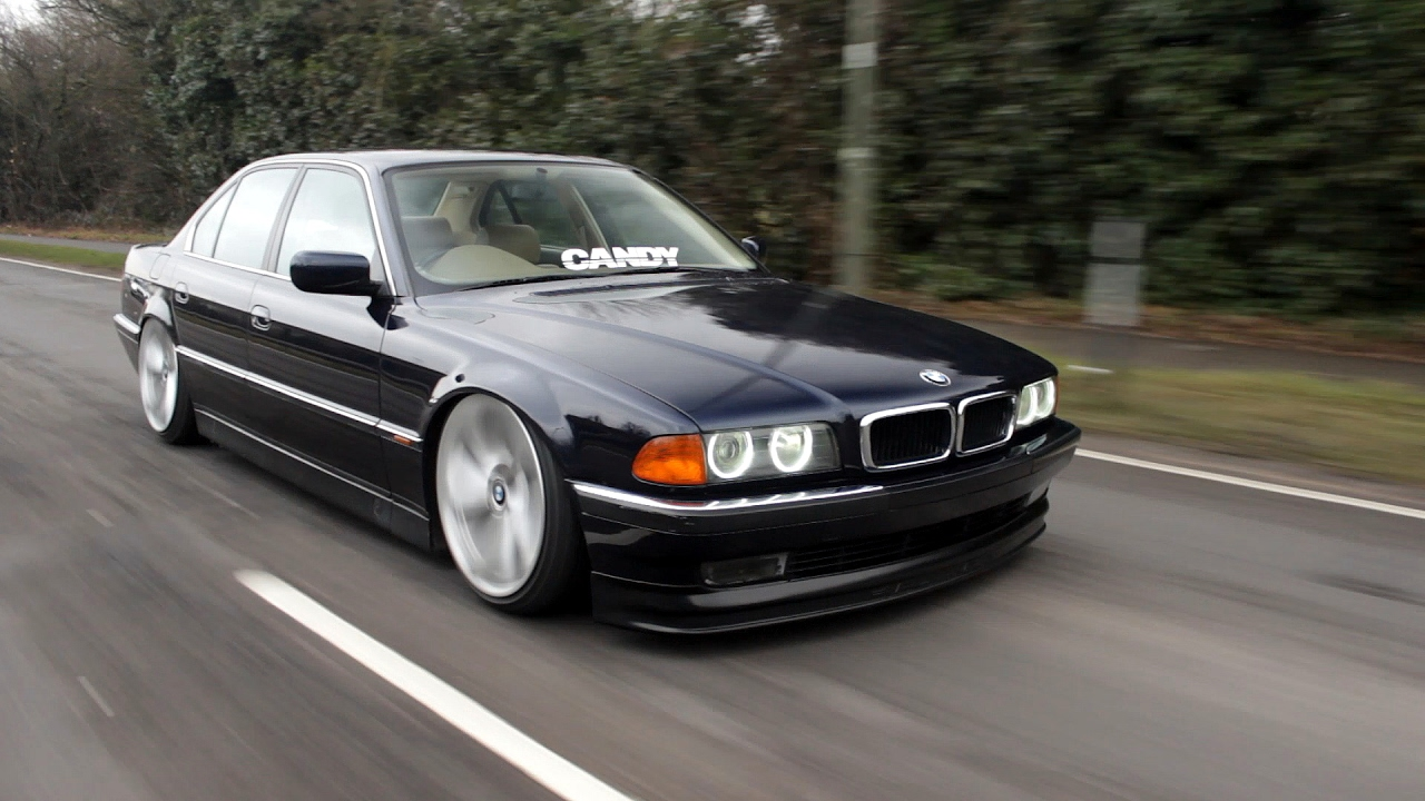 matt 39 s bagged bmw e38 7 series candy showroom youtube. Black Bedroom Furniture Sets. Home Design Ideas
