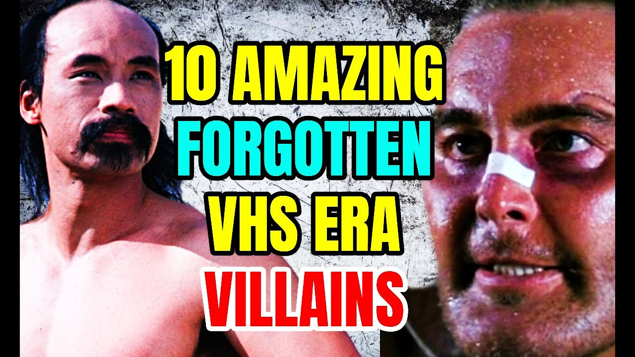 10 Forgotten VHS Era Villain Actors Who Are Amazing