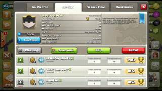 How to run a successful req n go clan in clash of clans