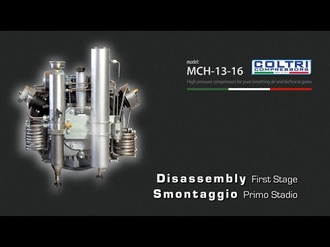MCH-13-16 COLTRI COMPRESSORS - First Stage