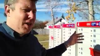 Canada Post's Community Mailbox Roll Out