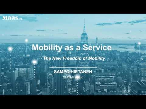Mobility as a Service   the new transport paradigm