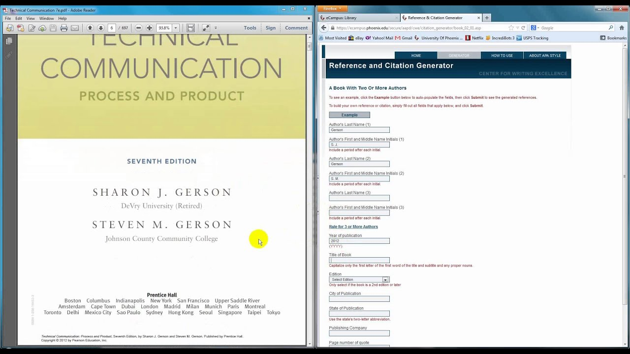 How To Use The Uop Reference And Citation Generator