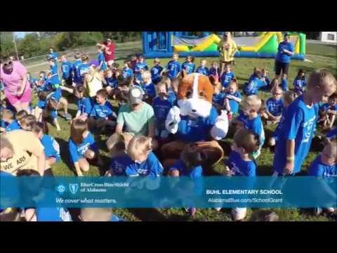 2017 - 2018 Be Healthy School Grant Recipient: #Buhl Elementary School#