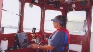 Robert Apuzzo of the Tugboat The Bronx, Assist in the Salvage of a Shipwreck in the East River 2014