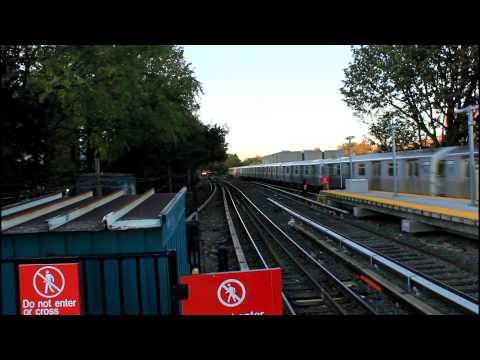 BMT Subway Station Tour: R68A (B) and R160 (Q) at Kings Highway