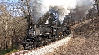 Southern 630 & 4501 - Freight Doubleheader to Summerville