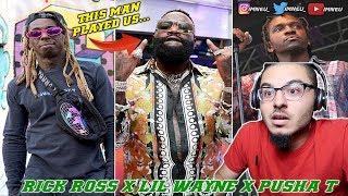 Rick Ross - Maybach Music VI (Feat. Lil Wayne & Pusha T)   REACTION