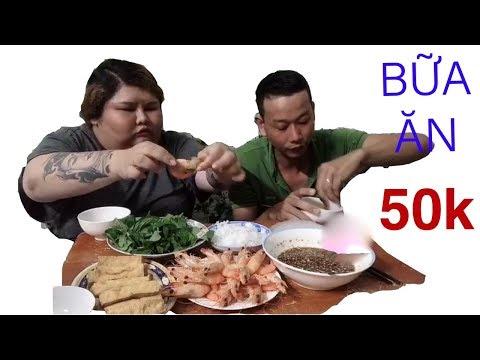Bữa ăn 50k của vợ chồng Ngân Ú II 34 HẺM LẠ II HẺM NHÀ NGÂN Ú