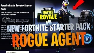 Fortnite - HOW TO GET THE *NEW* STARTER PACK!!! ROUGE AGENT SKIN