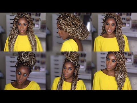 Marley/Senegalese Twists Hairstyles! | Jackie Aina thumbnail