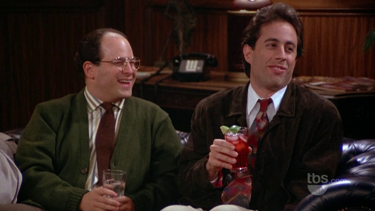 Seinfeld S02E03 Elaine's Dad | Jerry and George