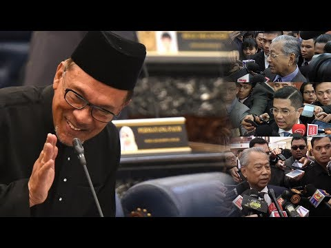 Dr M, Azmin and Muhyiddin on Anwar's return to Parliament