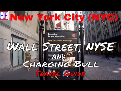 New York City (NYC) | Wall Street, NYSE & Charging Bull | Tourist Attractions | Episode# 7