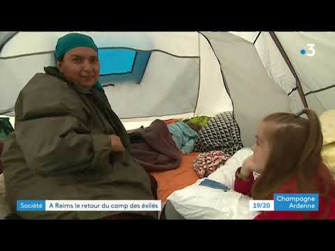 Reims : le campement de migrants s'agrandit, les bénévoles lancent un SOS - - France 3 Grand Est