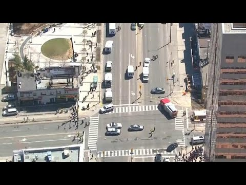 Canada shocked by worst act of violence in years after van driven into Toronto crowds kills 10