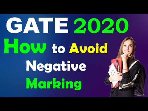 GATE 2020: 4 golden rules to avoid negative marking in GATE!!