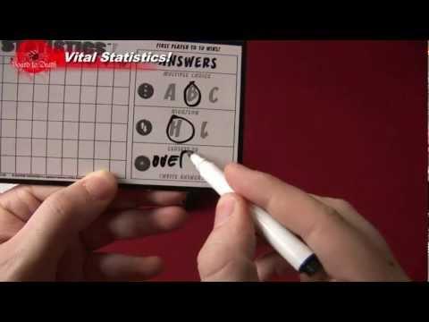 Vital Statistics Trivia Game Review