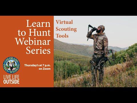 Virtual Scouting Tools - Zoom Webinar