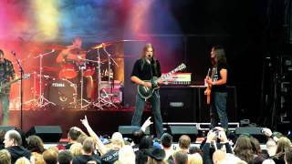 In Mourning - The Smoke (Rockstad Falun 2012)