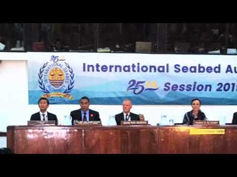 25th International Seabed Authority Session 2019