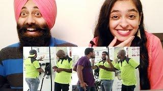 Reacting to Petrol Pump Prank | By Nadir Ali | P4 Pakao | PunjabiReel TV
