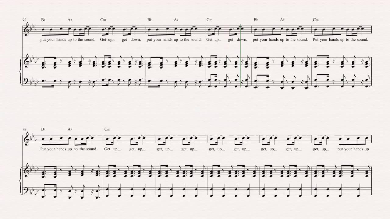 Horn party rock anthem lmfao sheet music chords vocals horn party rock anthem lmfao sheet music chords vocals hexwebz Choice Image