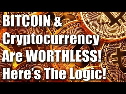 Bitcoin & Cryptocurrency Crash Proves They Are Worthless Hype