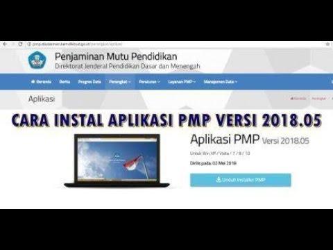 cara instal aplikasi pmp 2018.05 Cyber Operator