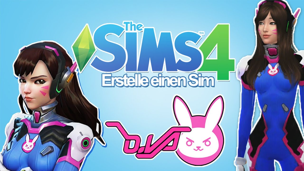 Dva Overwatch Die Sims 4 Erstelle Einen Sim Ger Youtube