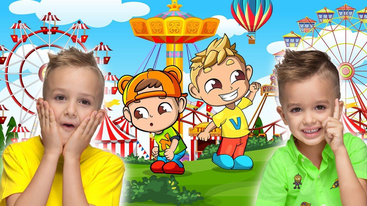 Download Vlad e Niki ganham ingressos para o parque de diversões