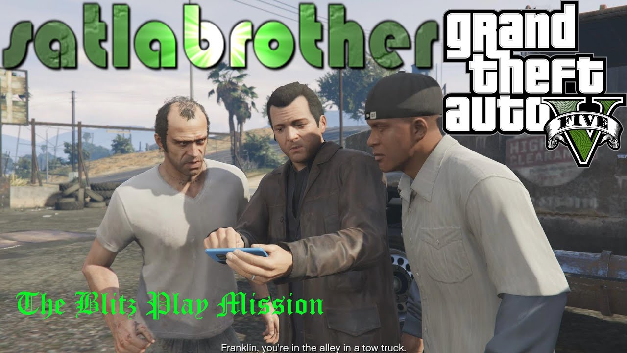 how to play certain mission again gta v