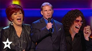 Witty Comedian Has Judges in Stitches on America's Got Talent | Got Talent Global
