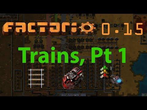 Factorio Tutorial #22 - Trains, pt 1