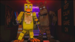 Jogando Five Nights at freddy's 3 Minecraft Animação (FNAF 3 Animation Minecraft) MinecraftProduced