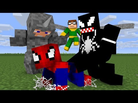 Thumbnail: Noob Spiderman Life - Minecraft Animation