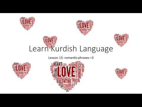 Learn Kurdish Language  Romantic Phrases