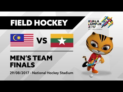 KL2017 29th SEA Games | Men's Field Hockey - FINALS - MAS 🇲🇾 vs MYA 🇲🇲 | 29/08/2017