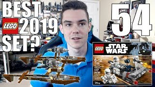 BEST 2019 LEGO Star Wars Set?, Not Allowed To Buy LEGO Sets!?, CHROME LEGO | ASK MandRproductions 54