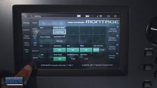 Yamaha Montage: Upgrading the Operating System - OS 2.0