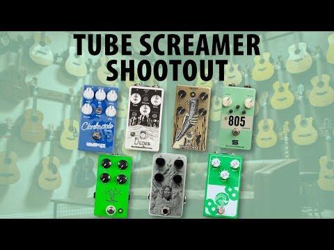 Tube Screamer Shootout: